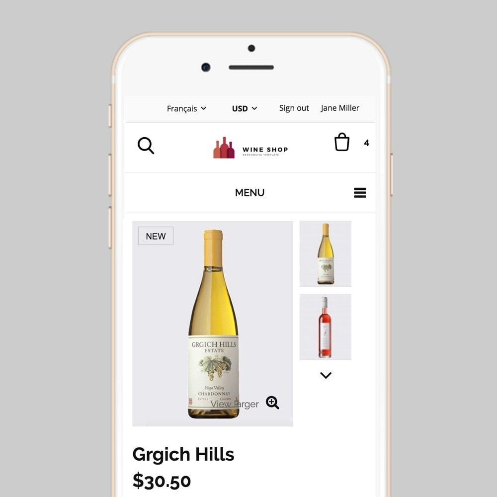 theme - Lebensmittel & Restaurants - Wineshop - 8