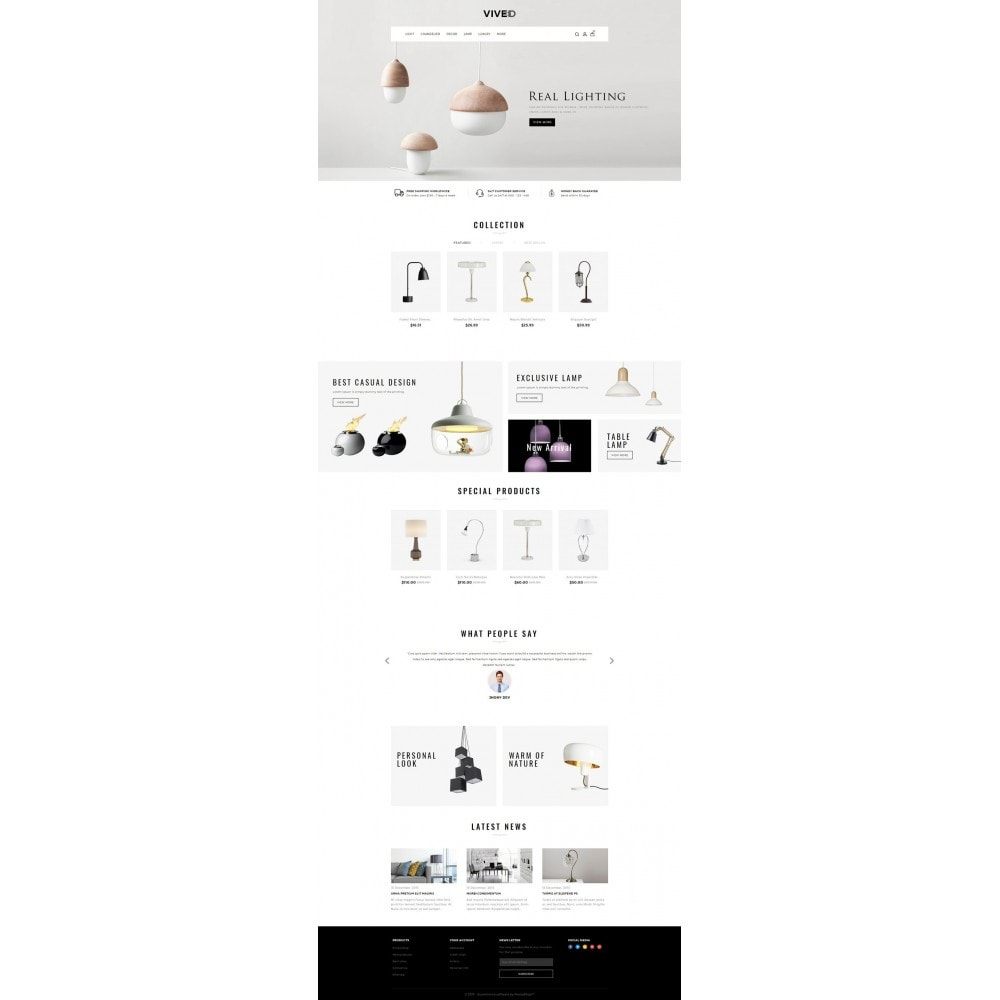 theme - Eletrônicos & High Tech - Vived - Lighting Design Store - 2