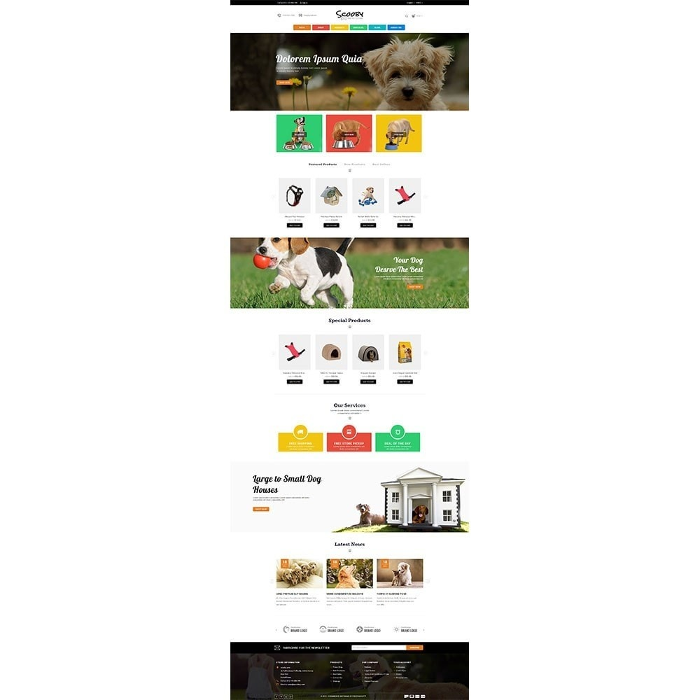 theme - Animales y Mascotas - Scooby pet store - 2