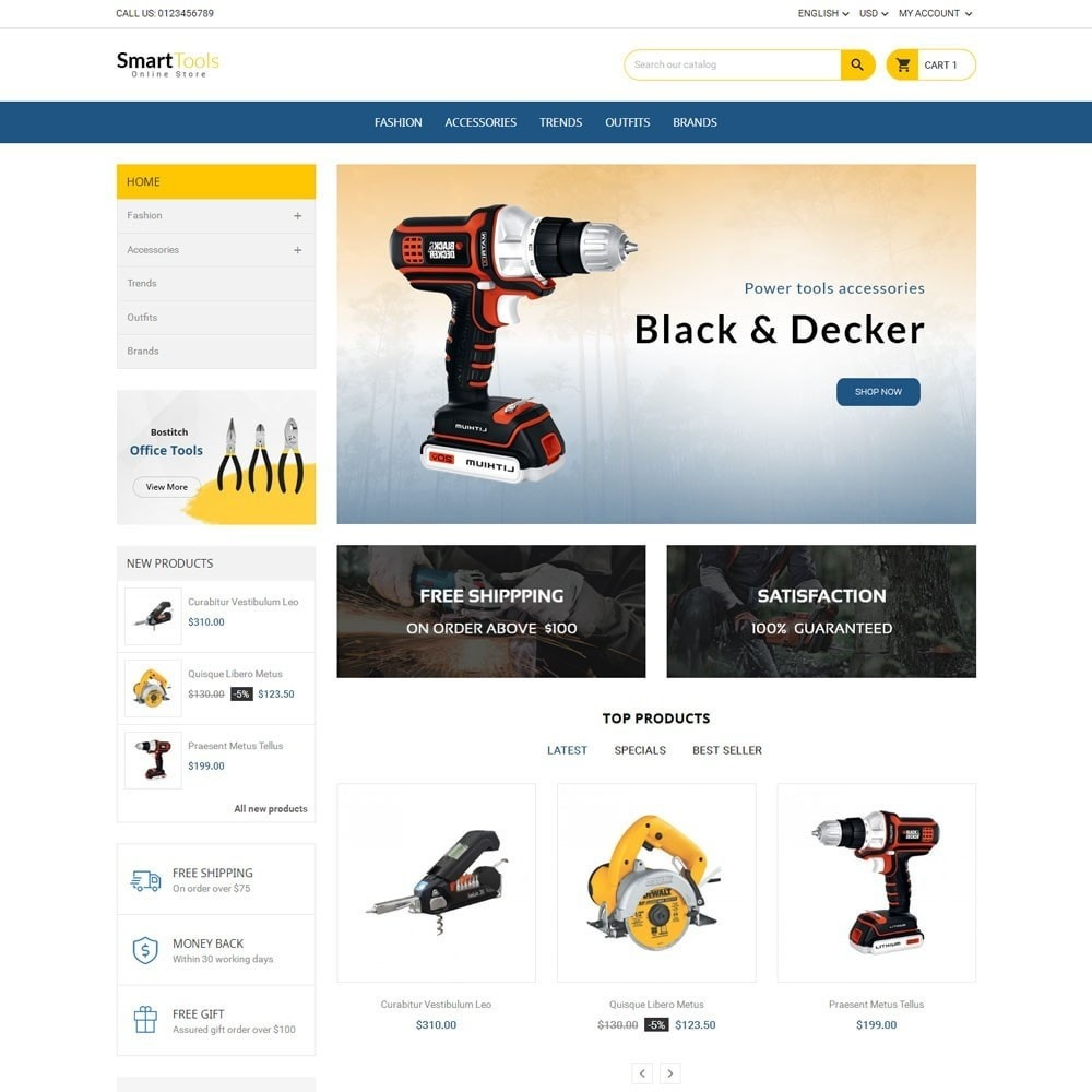theme - Dom & Ogród - Smart Tools Store - 2