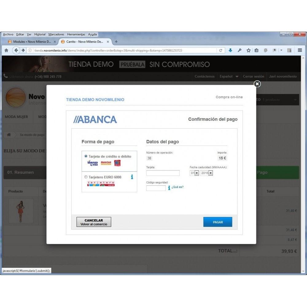 module - Pago con Tarjeta o Carteras digitales - CECA TPV PS17+ Pago seguro con tarjeta de crédito SHA2 - 2