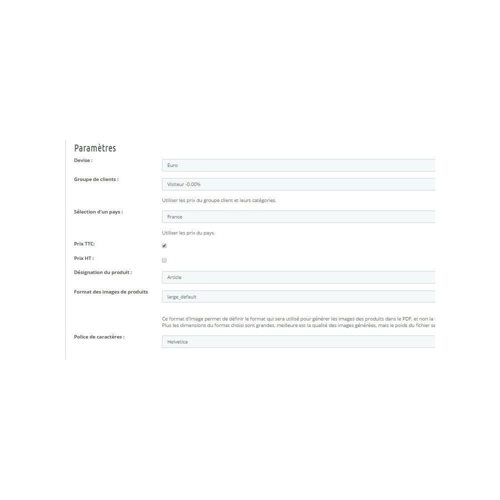 module - Import & Export de données - Catalogue PDF - 3