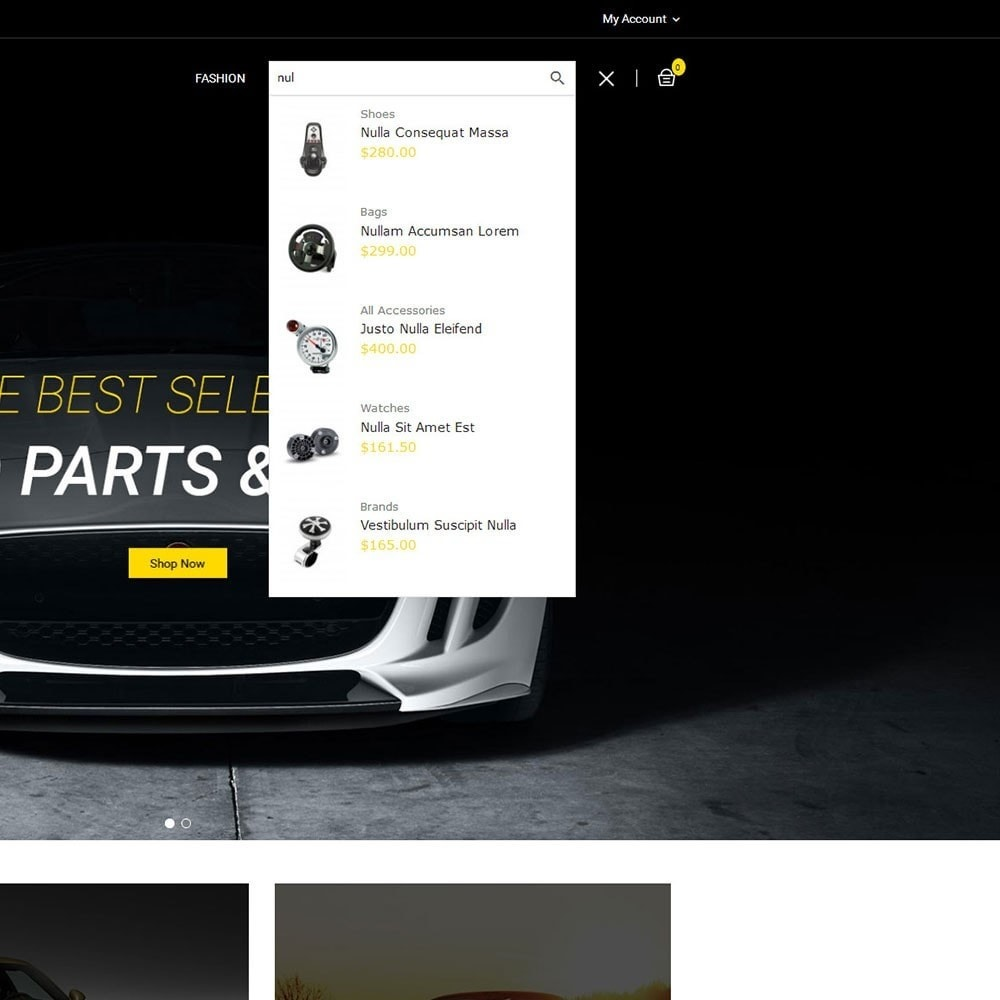 theme - Automotive & Cars - Auto Parts Car Store - 7