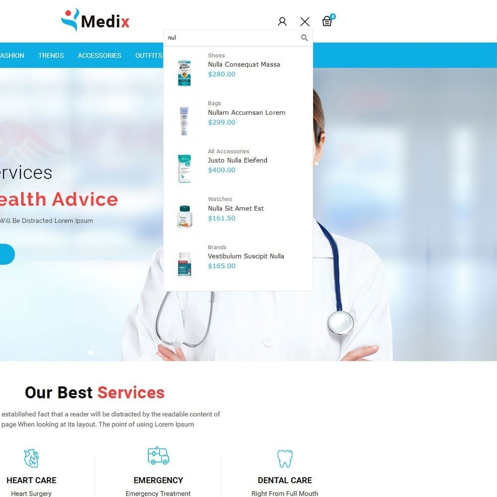 theme - Health & Beauty - Medix Medical Store - 6