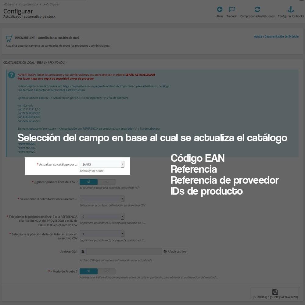 module - Edición Rápida y Masiva - Actualizador masivo de stock (producto y combinaciones) - 5