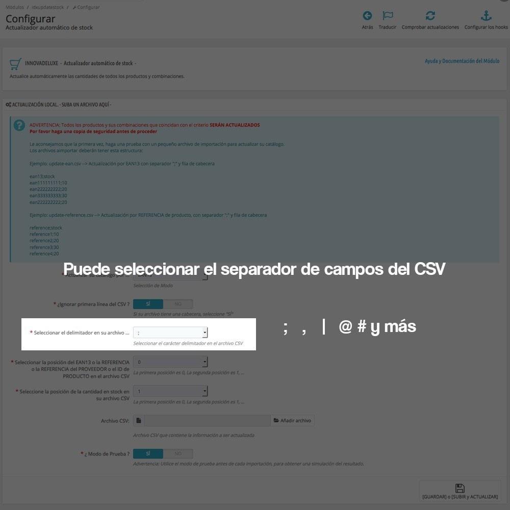 module - Edición Rápida y Masiva - Actualizador masivo de stock (producto y combinaciones) - 7