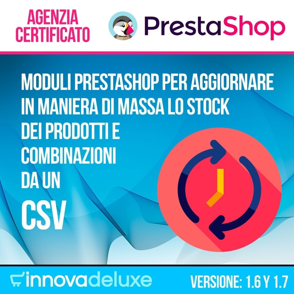 module - Modifica rapida & di massa - Aggiornamento di massa dello stock - 1