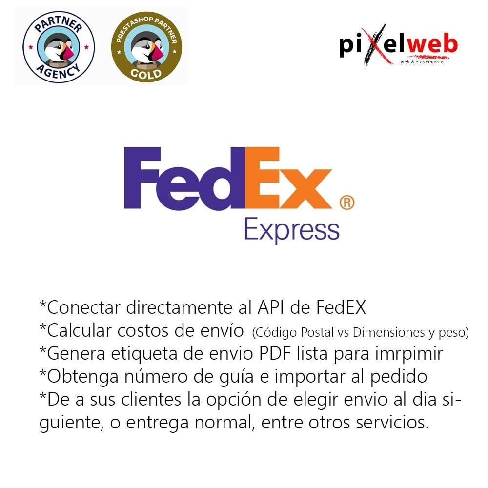 module - Transportistas - FedEx Oficial - 1
