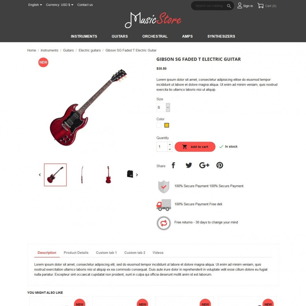 theme - Art & Culture - MusicStore - 6