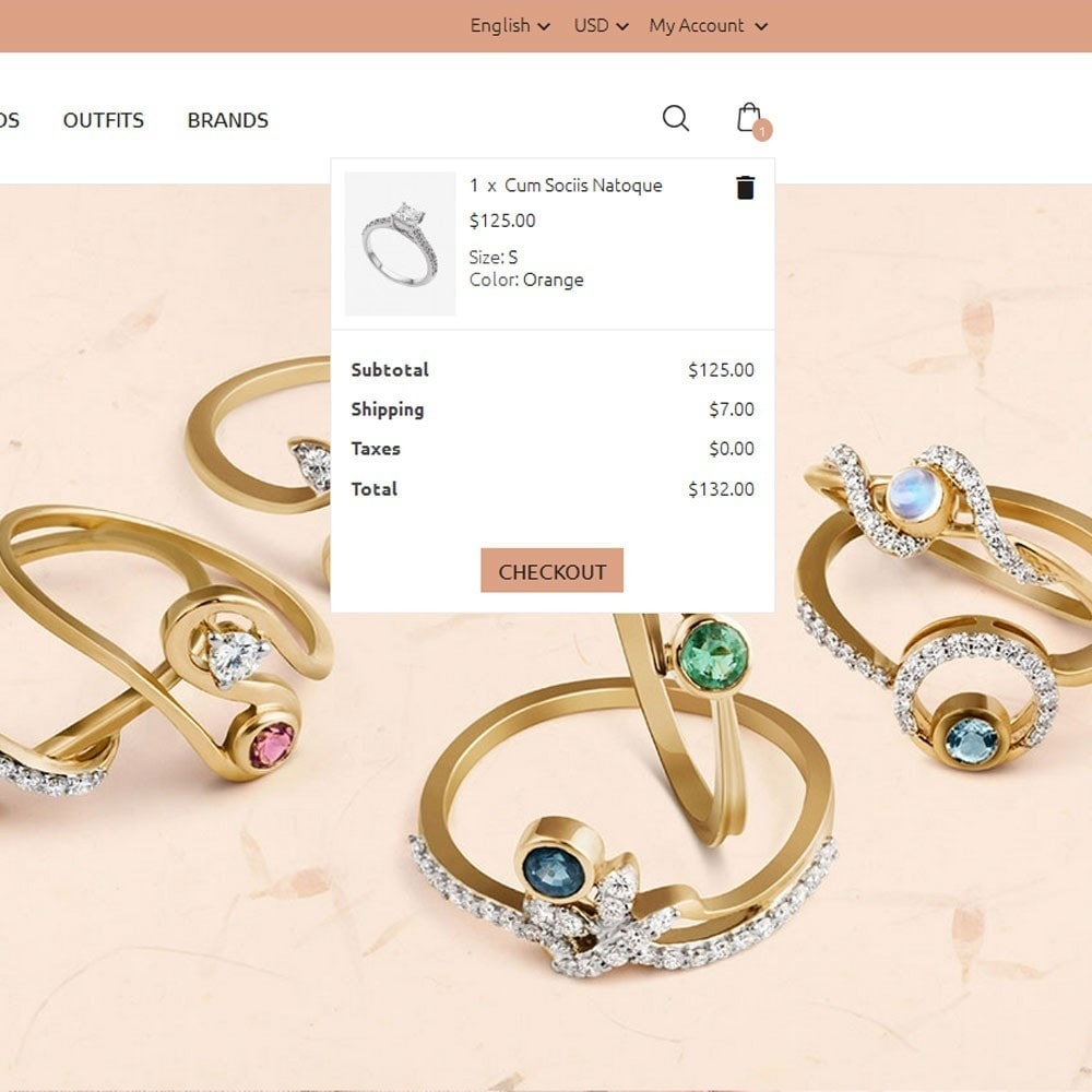 theme - Schmuck & Accesoires - Golden Jewellery Store - 6
