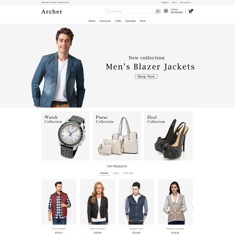 theme - Moda y Calzado - Archer Fashion Store - 2
