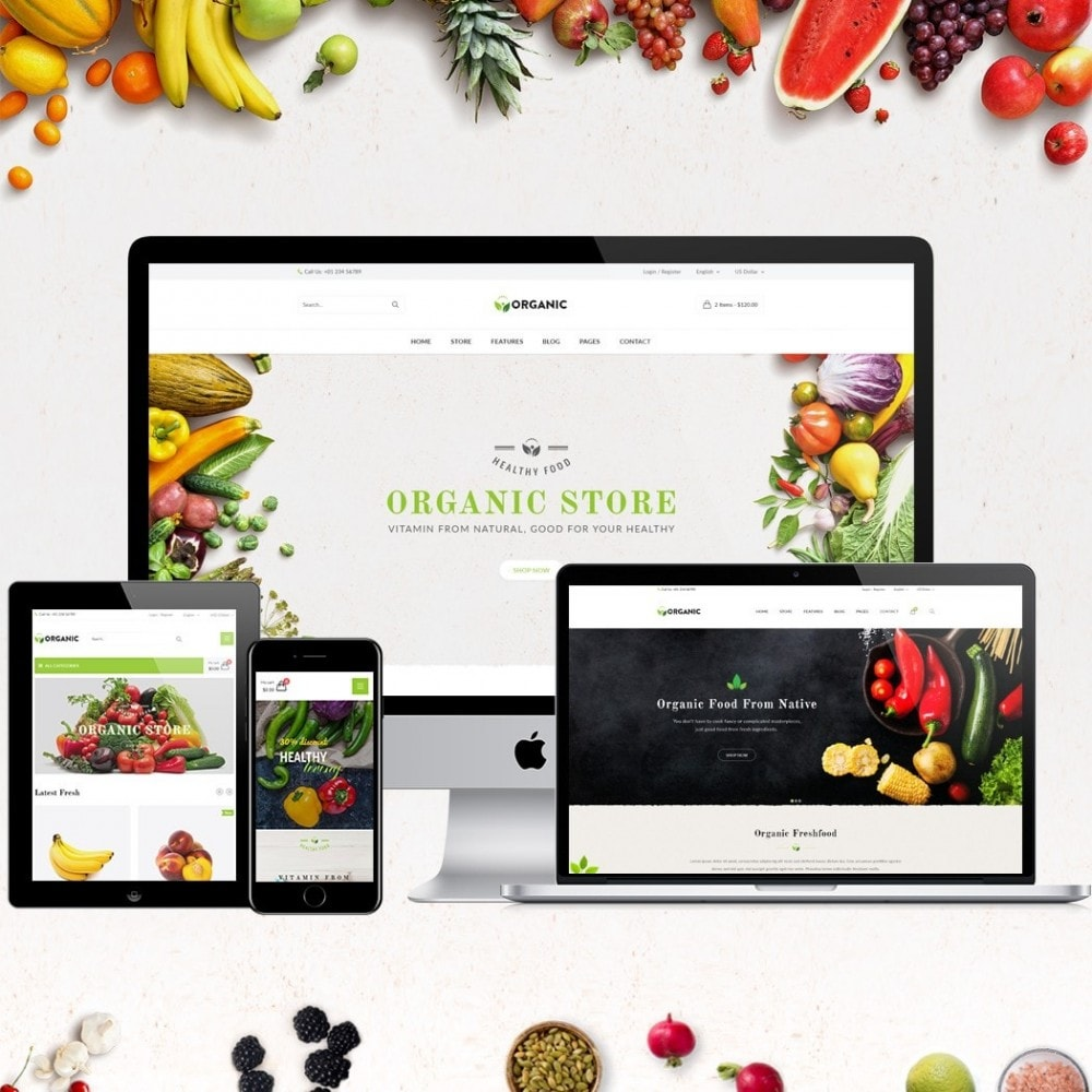 theme - Lebensmittel & Restaurants - JMS Organic - 2