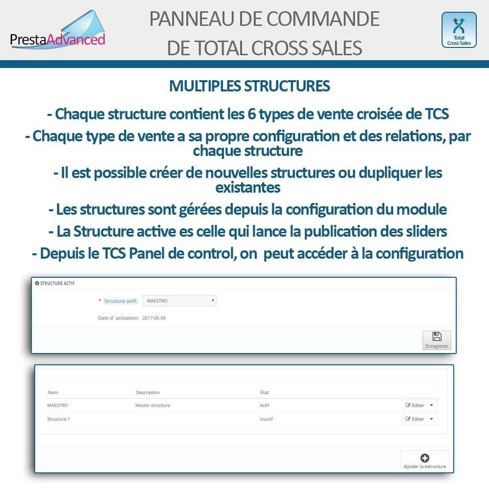 module - Ventes croisées & Packs de produits - Total Cross Sales - Configuration des ventes croisées - 24