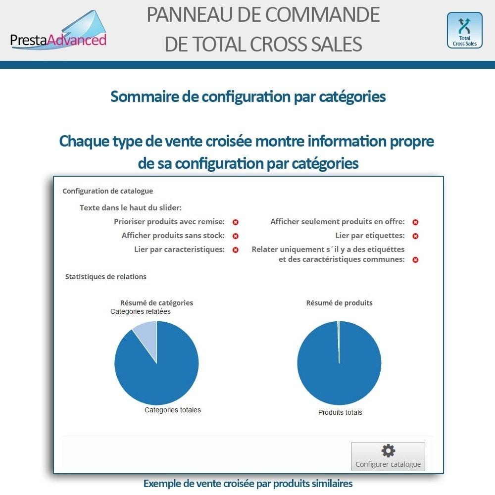 module - Ventes croisées & Packs de produits - Total Cross Sales - Configuration des ventes croisées - 28