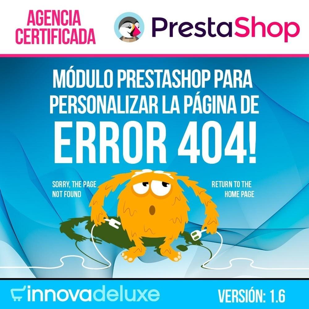 module - URL y Redirecciones - Personalización de la página de error 404 - 1