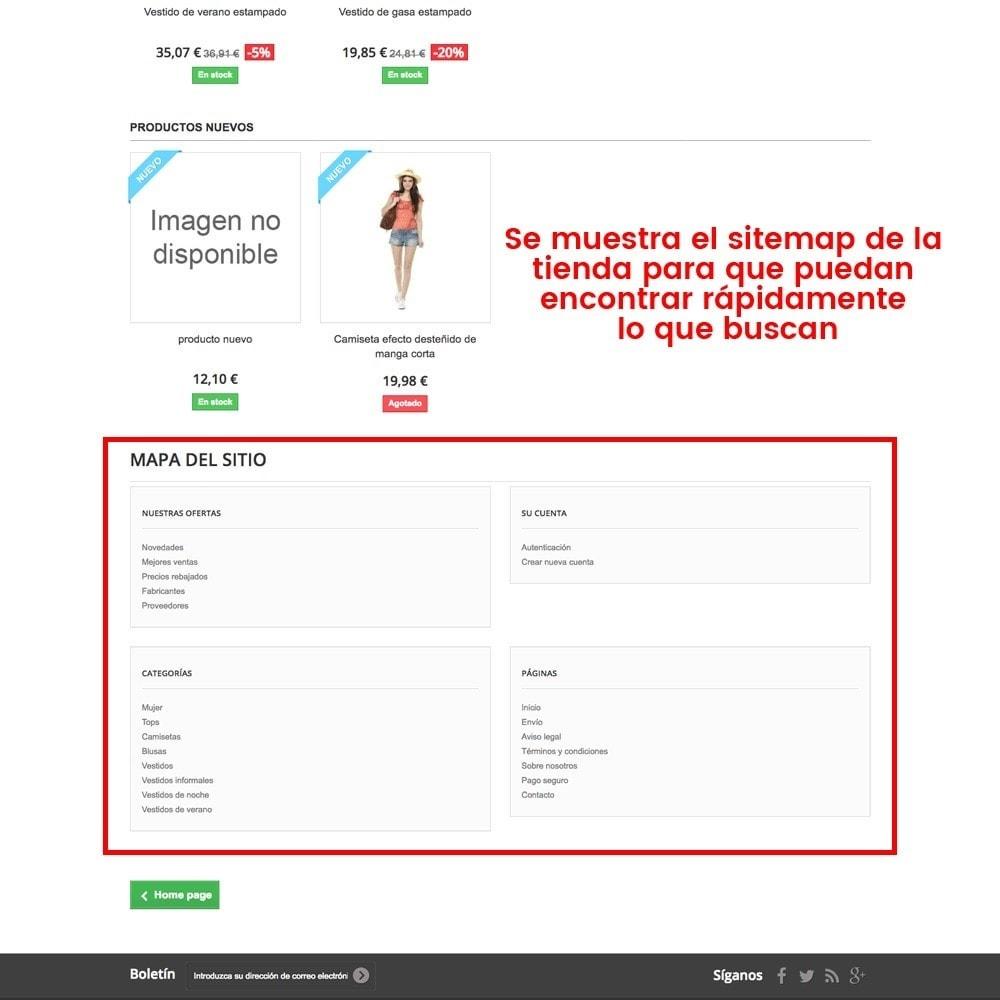 module - URL y Redirecciones - Personalización de la página de error 404 - 4