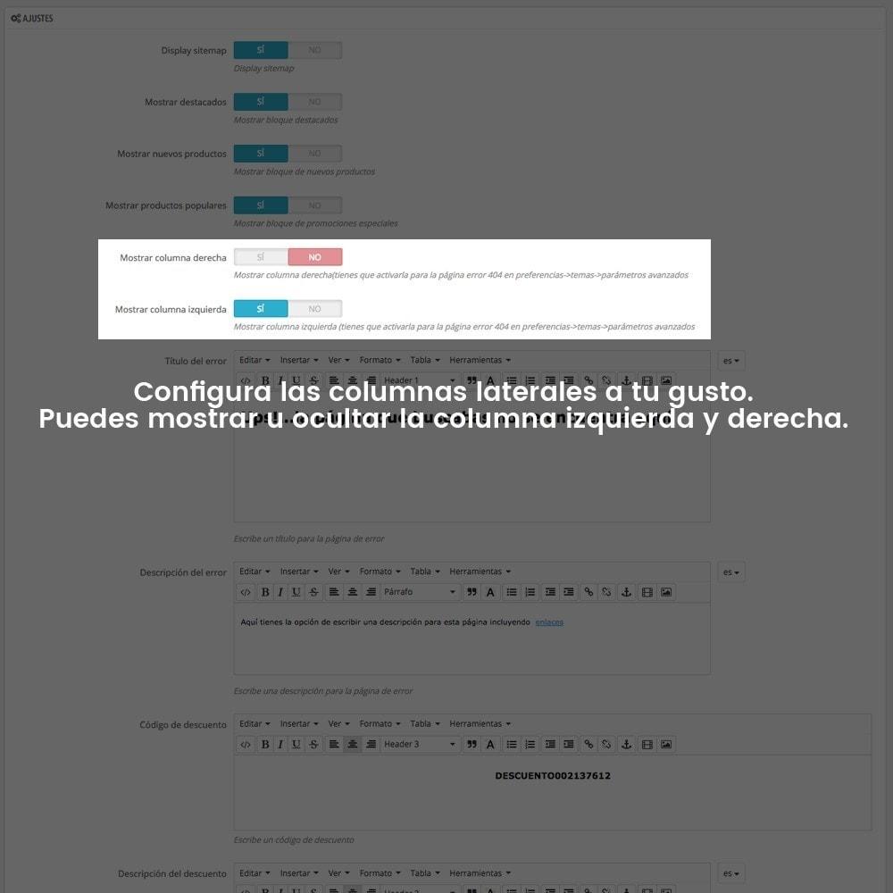 module - URL y Redirecciones - Personalización de la página de error 404 - 11