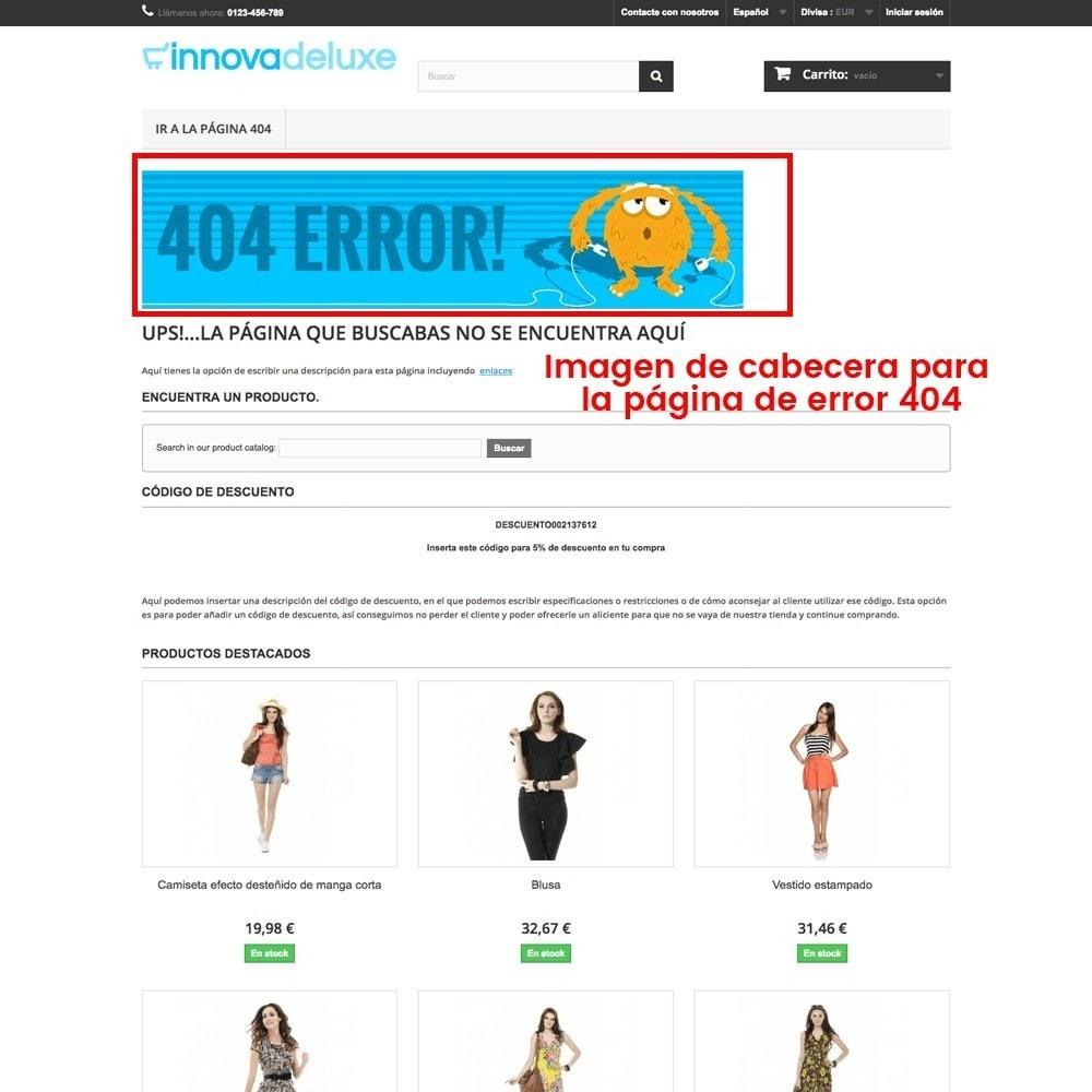 module - URL y Redirecciones - Personalización de la página de error 404 - 25