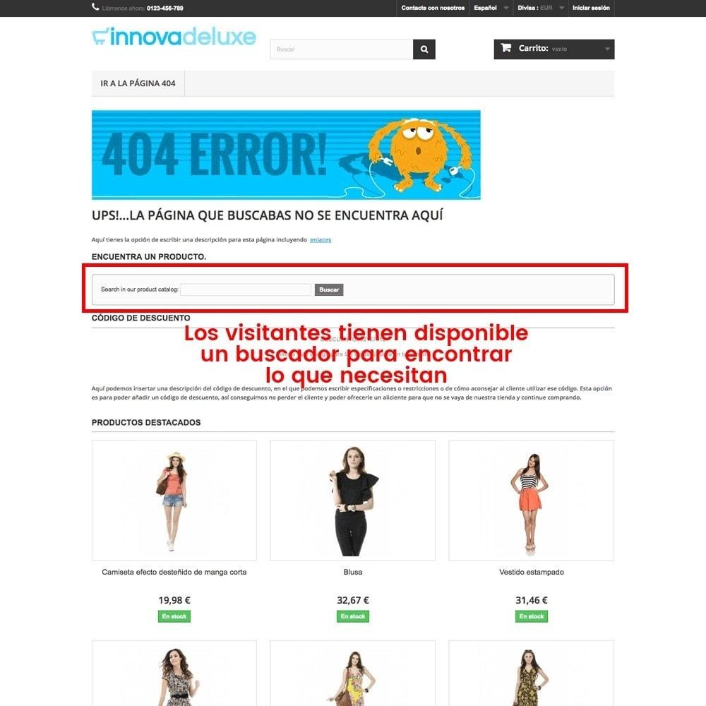 module - URL y Redirecciones - Personalización de la página de error 404 - 27