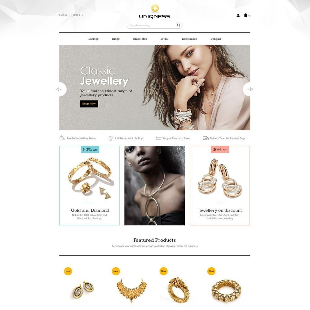 theme - Jewelry & Accessories - Jewelry  Store - 2