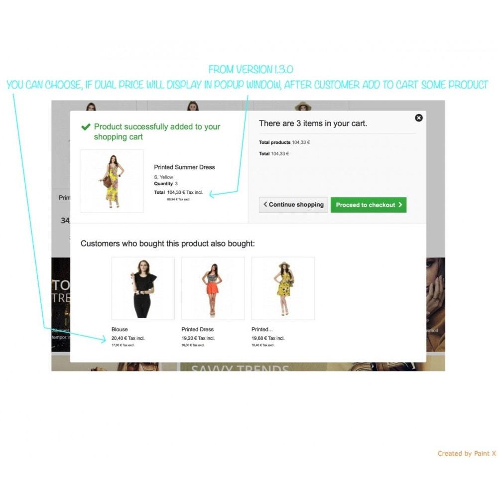 module - Preisverwaltung - B2B duale Abbildung der Preise mit MwSt. und ohne MwSt. - 8