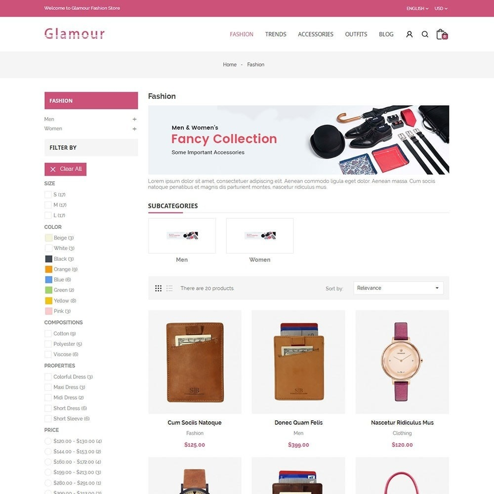 theme - Mode & Schoenen - Glamour Fashion Store - 3