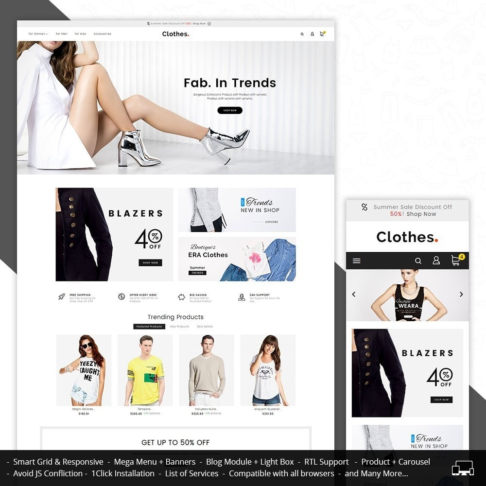 theme - Moda & Obuwie - Fashion Clothes - 1