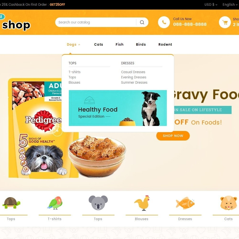 theme - Animali - Pet Food - 9