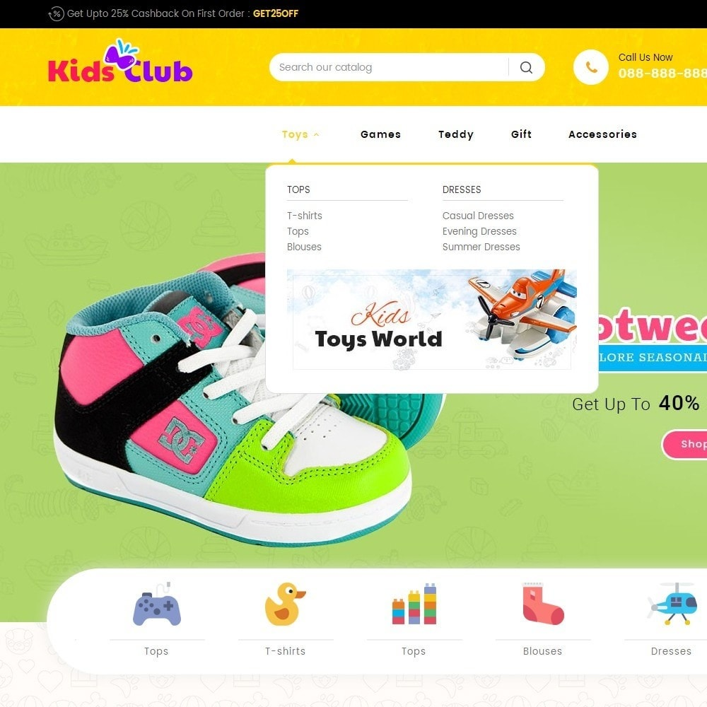 theme - Kids & Toys - Kids Toy Club - 9