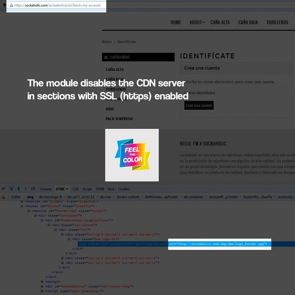 module - Bezpieczeństwa & Dostępu - Disable CDN media server over SSL security certificate - 5