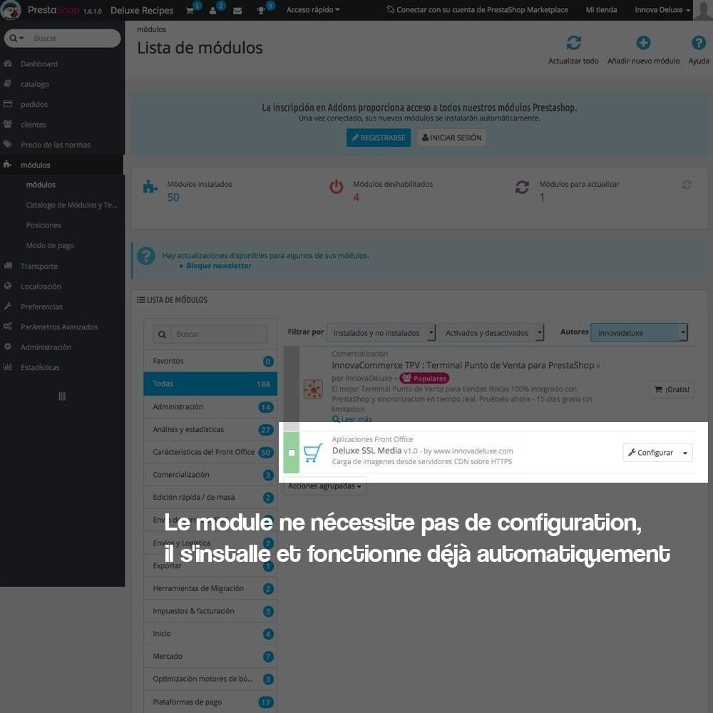 module - Sécurité & Accès - Désactivation de serveurs de médias CDN sur SSL - 2