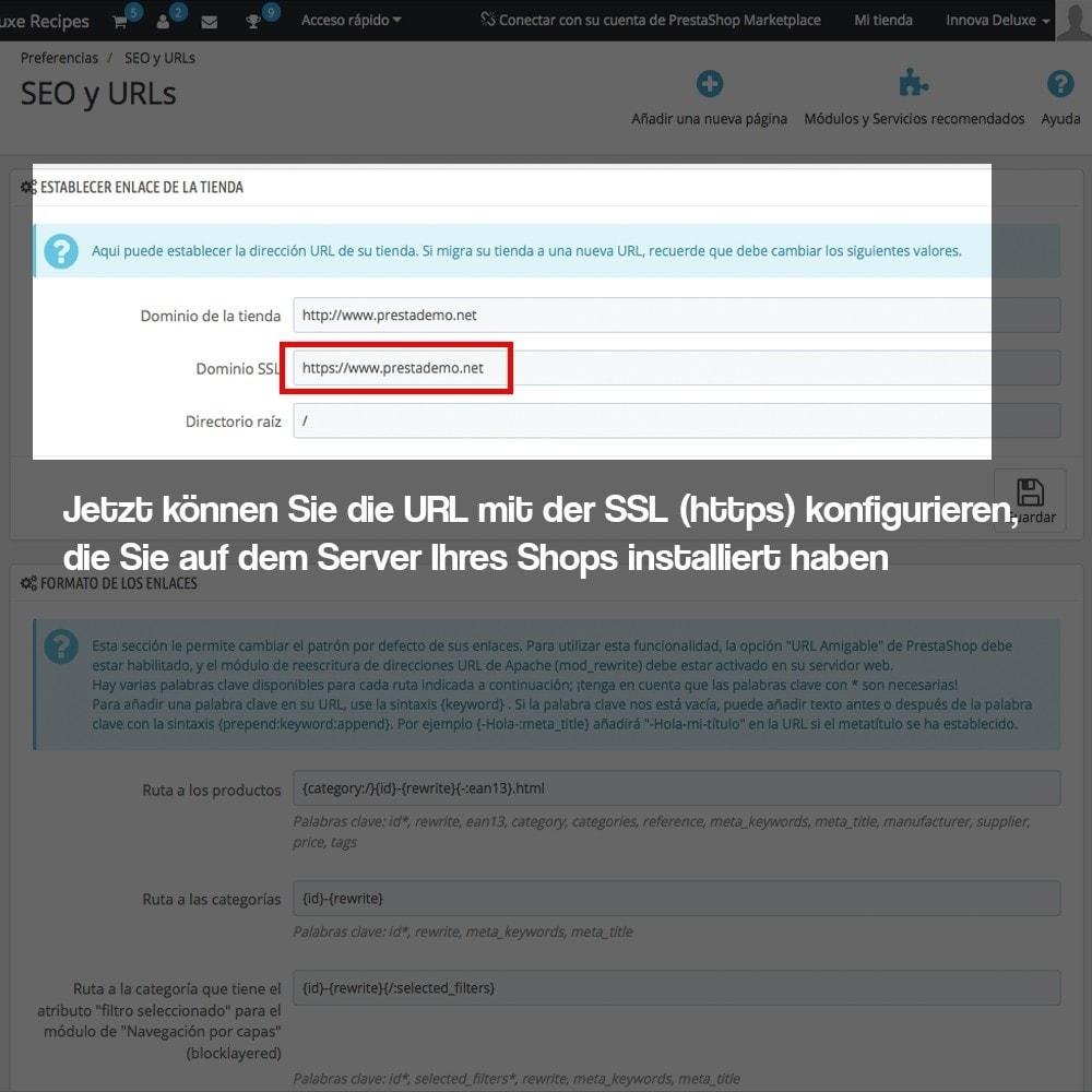 module - Sicherheit & Brechtigungen - Desaktivieren von Medienservern CDN über SSL - 3