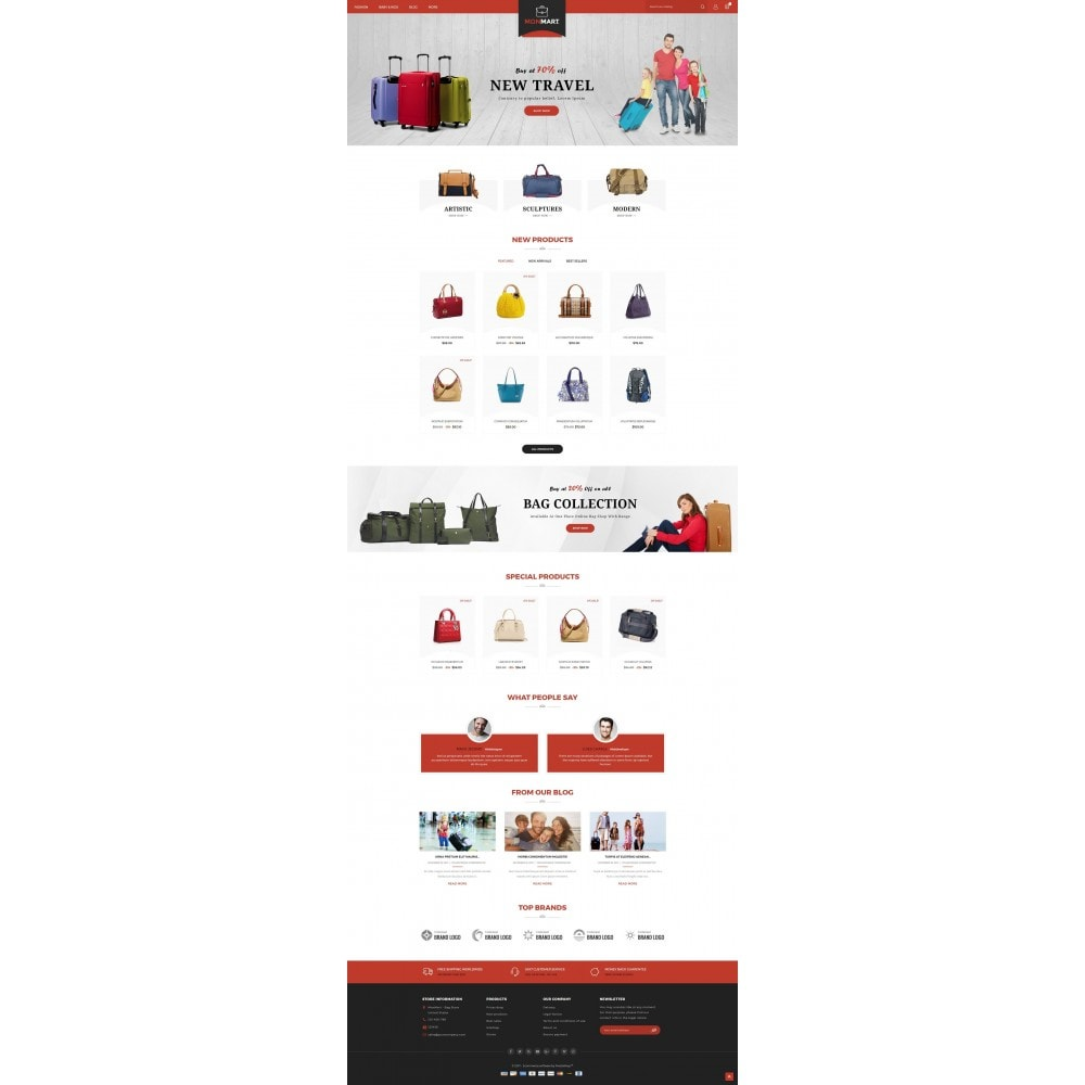 theme - Fashion & Shoes - MonMart Bag Store - 2