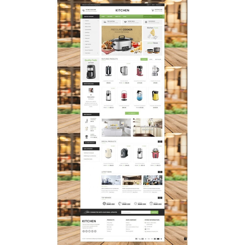theme - Дом и сад - Online Kitchen Store - 2