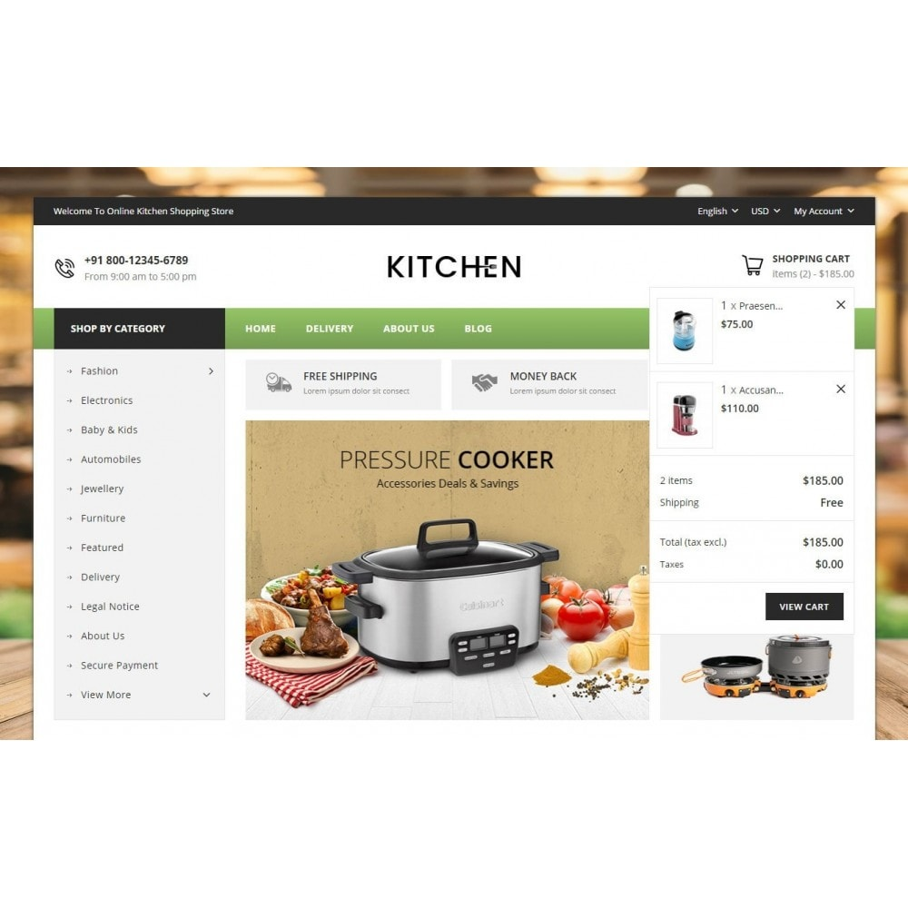 theme - Home & Garden - Online Kitchen Store - 8