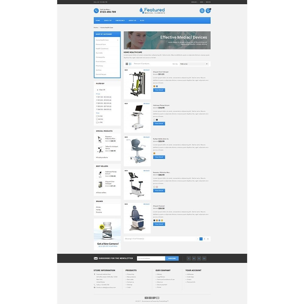 theme - Salute & Bellezza - Featured store - 4
