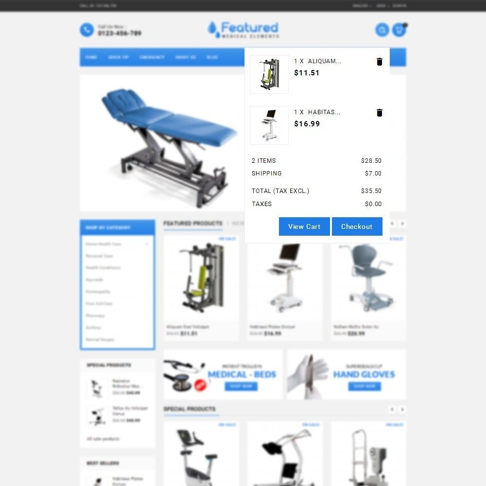 theme - Health & Beauty - Featured store - 8