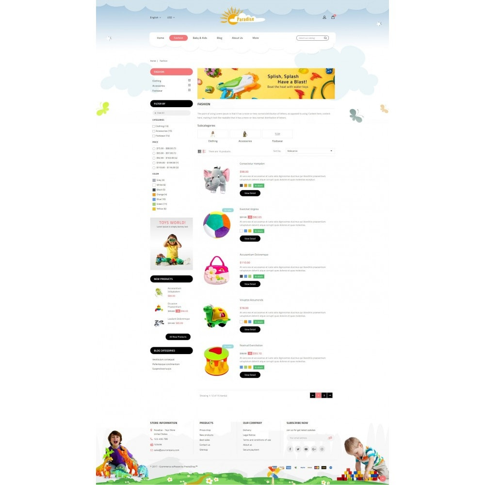 theme - Niños y Juguetes - Paradise Toys Store - 4