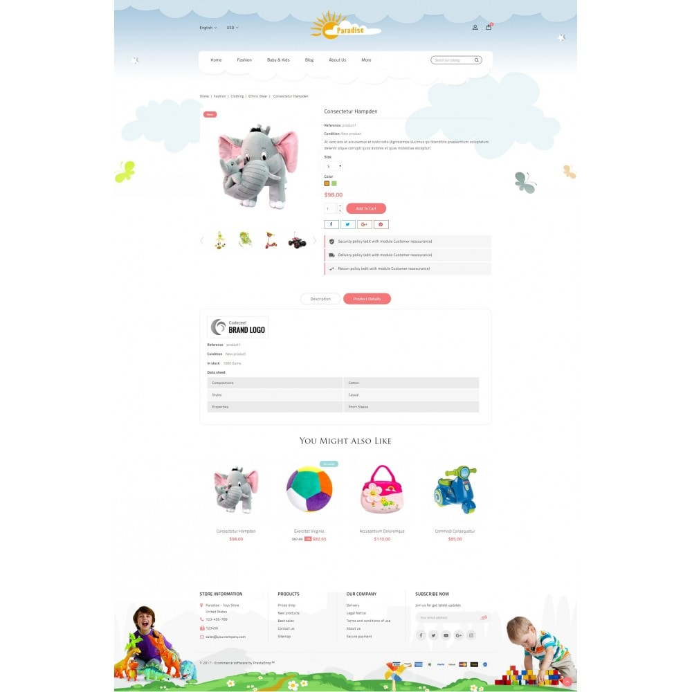 theme - Niños y Juguetes - Paradise Toys Store - 5