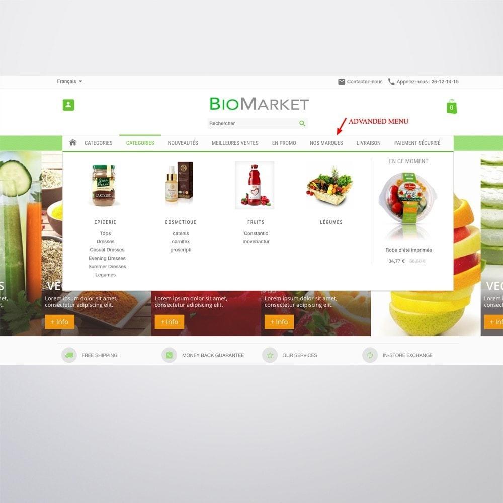 theme - Santé & Beauté - Bio Market - 5