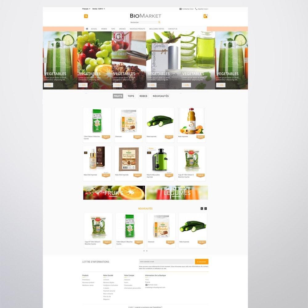 theme - Santé & Beauté - Bio Market - 11