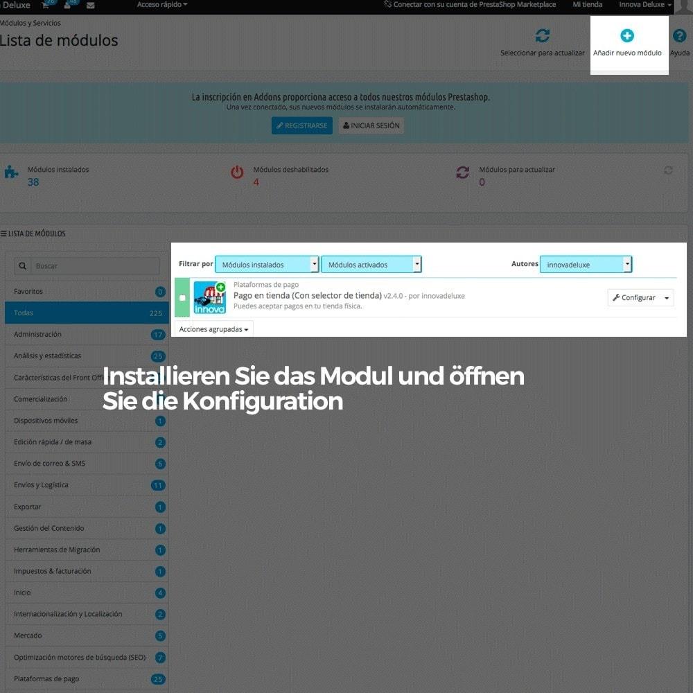 module - Zahlung am POS - Bezahlung und Abholung in Ladengeschäften (Filialisten) - 2