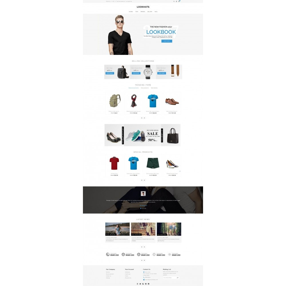 theme - Мода и обувь - Lookhats - Fashion Store - 2