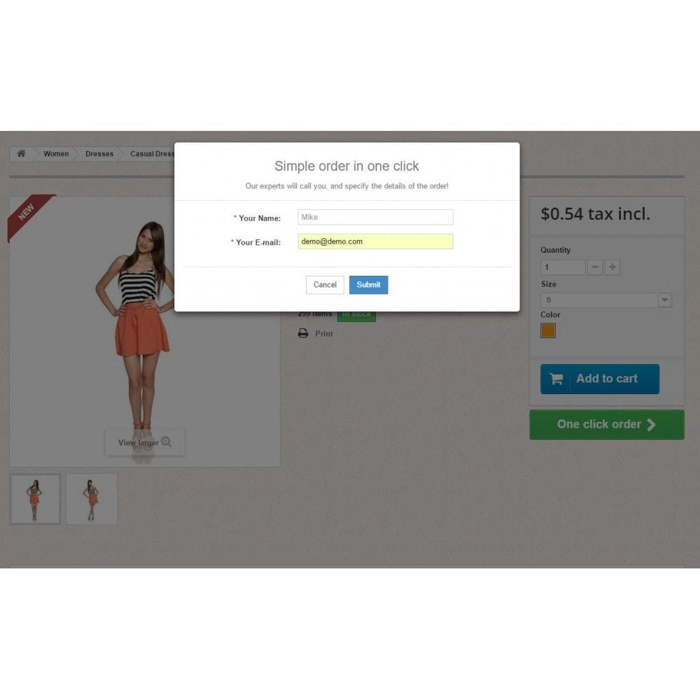 module - Процесс заказа - Заказ в один клик (быстрый заказ) - 2