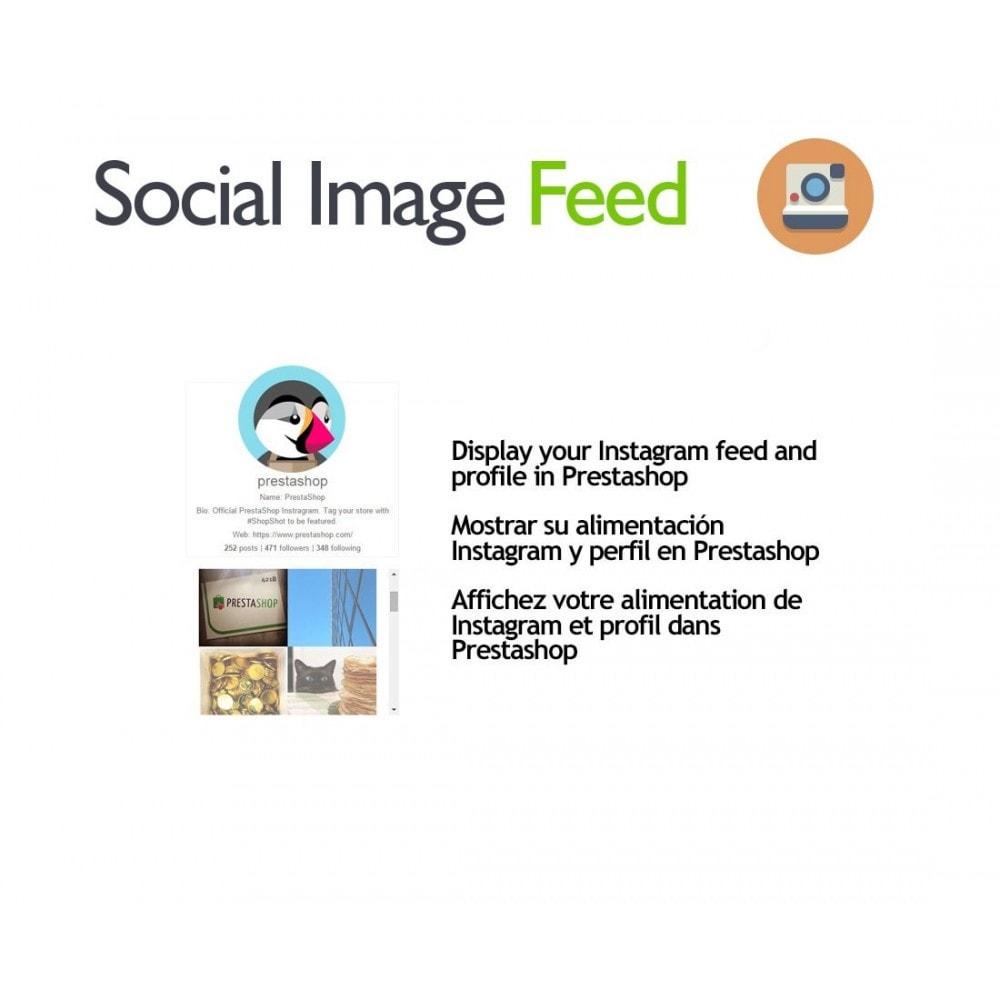 module - Widgets réseaux sociaux - Social Image Feed - 1