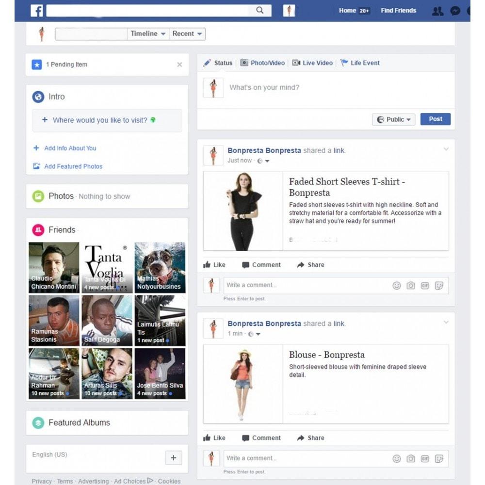 module - Produkty w serwisach społecznościowych - Advanced Facebook Open Graph Tags - 3