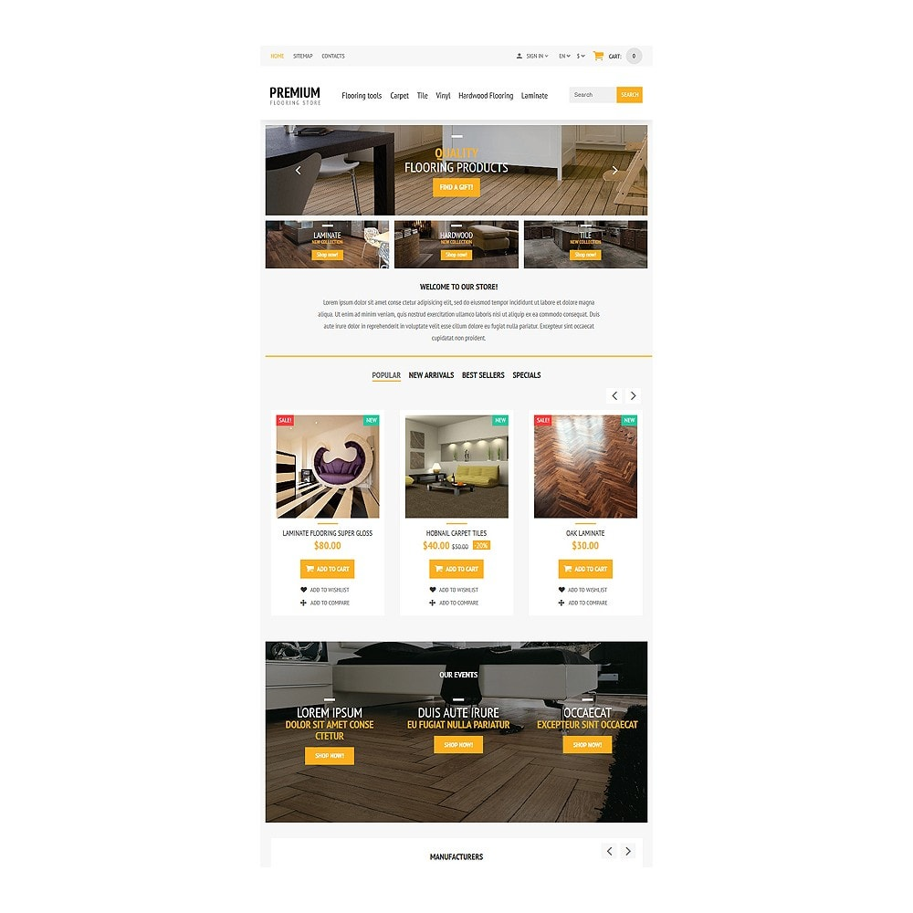 theme - Искусство и Культура - Flooring Store - 7