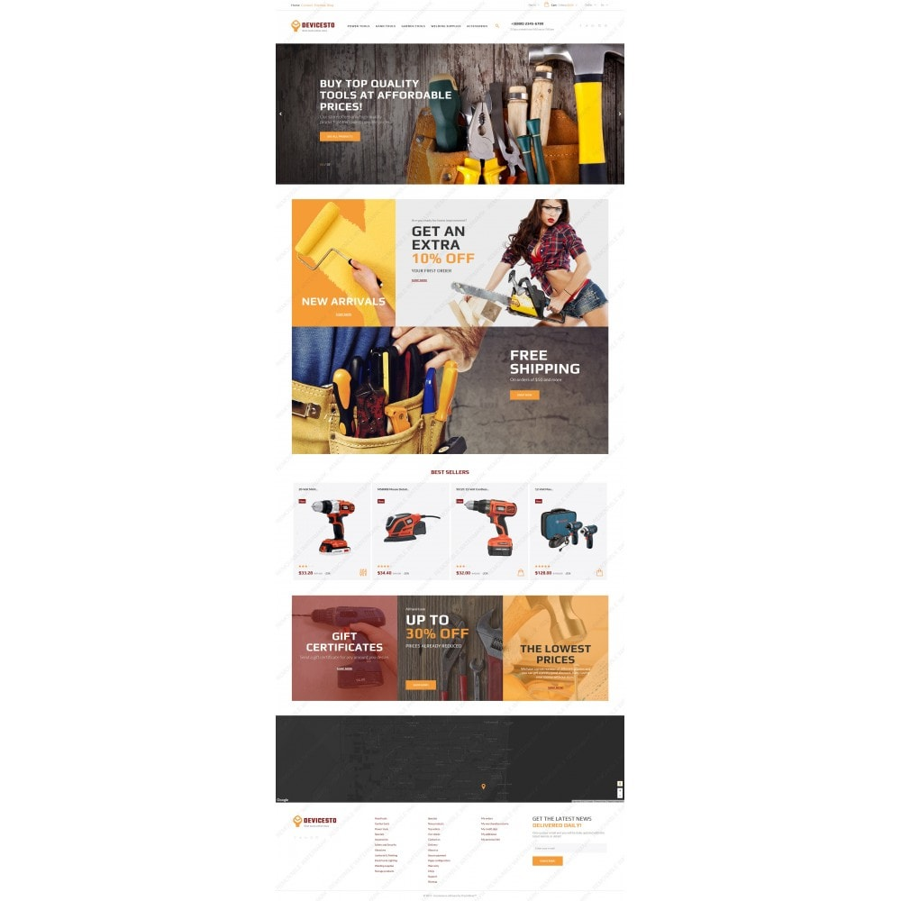 theme - Casa & Jardins - Devicesto - Tools and Supplies Store - 3