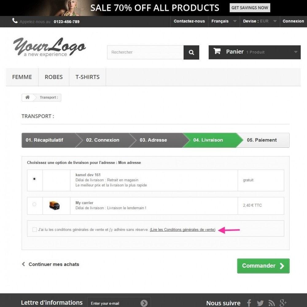 pack - De aanbiedingen van dit moment: bespaar geld! - Loi Européenne - CGV + Bandeau d'Informations Cookies - France (Pack) - 10