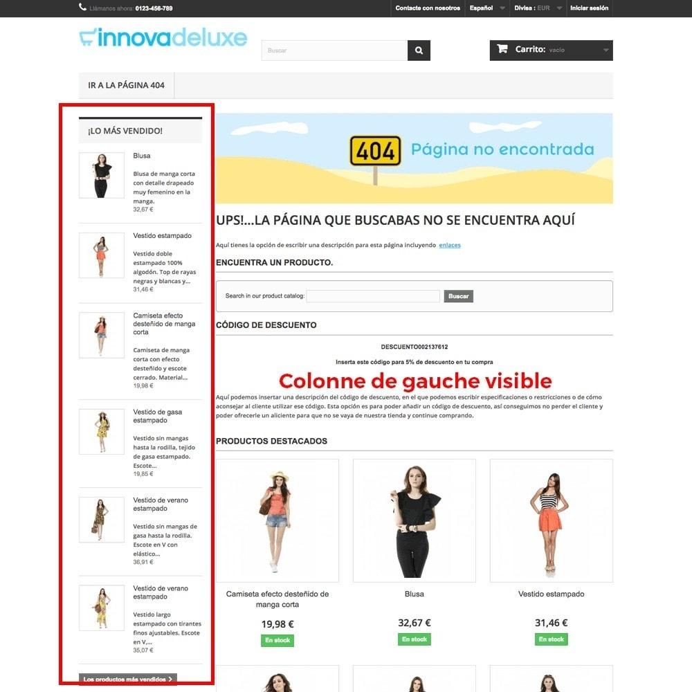 module - URL & Redirections - Personnalisation de la page d'erreur 404 - 12